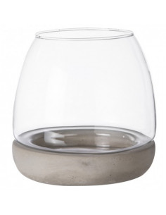 Ibarra-Glass sur socle ciment