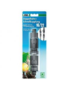 JBL Robinet double 16/22mm